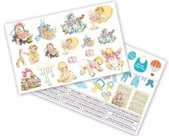 Dress My Craft Teenie Weenies - A4 Size Motif Sheets
