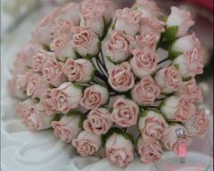 Twisted Rose Buds - Dull Pink