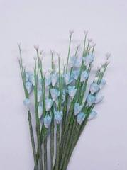 Handmade Mulberry Fillers Pollens Shaded Light Blue In Color.Pack Of 50 Fillers.