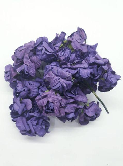 Mulberry Gardenia Flowers Purple In Color 23 Bunches in Pack