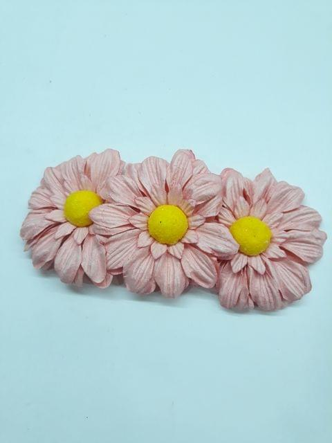 Daisy Sun Flowers Peach Pink in Color Pack of 25 Flowers.