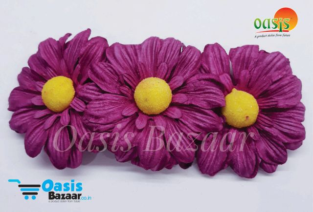Sun Flowers Color Magenta and Yellow. 01