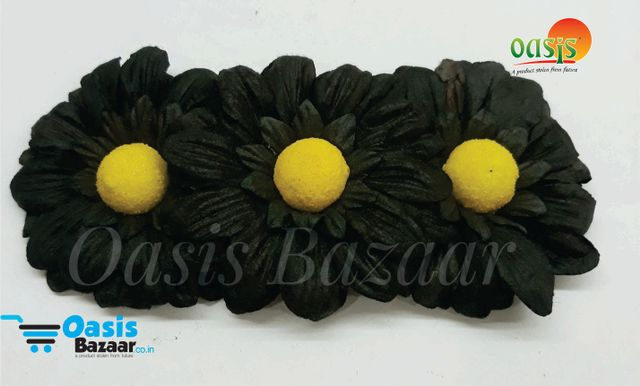 Sun Flowers Color Black And Yellow 12