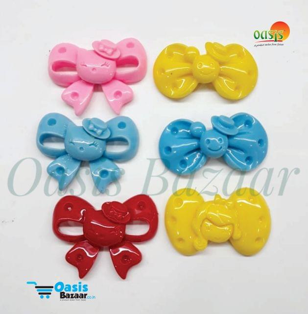 Bow Pack of 6 Bow's Assorted colors pack