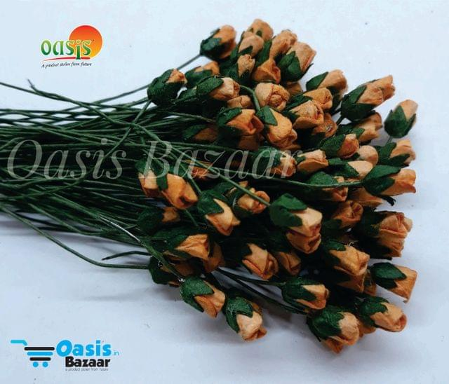 Micro Mini Rose Buds Pack of 100 buds 5 mm in Size 04