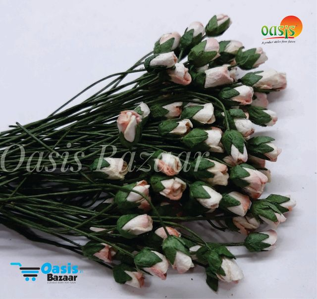 Micro Mini Rose Buds Pack of 100 buds 5 mm in Size 05