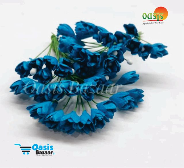Thai Paper Flowers pack of 10 bunches. 10mm in Size. 01