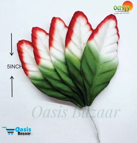 Color Shaded Leaves Pack of 50 Leaves 5 inch in size 02
