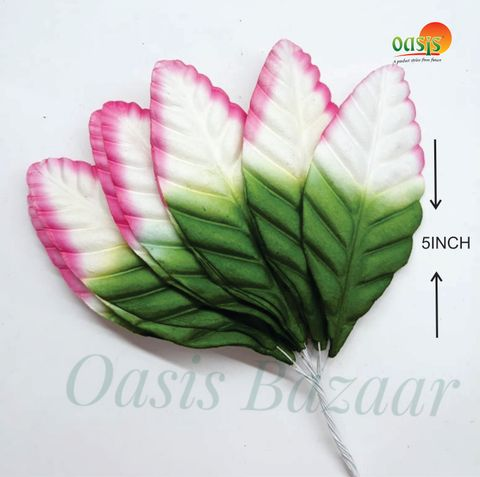 Color Shaded Leaves Pack of 50 Leaves 5 inch in size 03