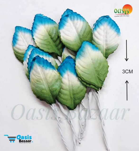 Color Shaded Leaves Pack of 50 Leaves 3 cm in size 02