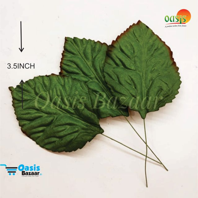 Handmade Mulberry leaves pack of 10 Embossed Leaves 02