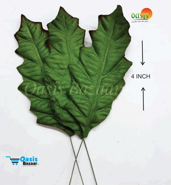 Handmade Mulberry leaves pack of 10 Embossed Leaves 04