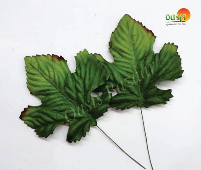 Handmade Mulberry leaves pack of 10 Embossed Leaves 15