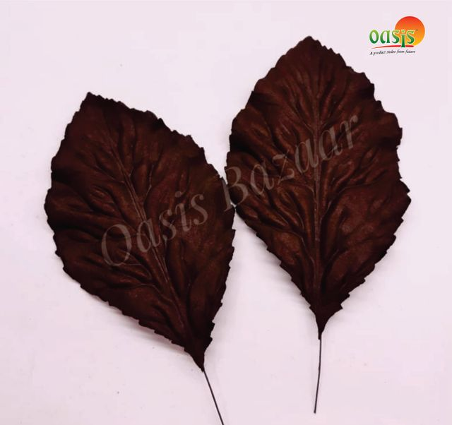 Handmade Mulberry leaves pack of 10 Embossed Leaves 16