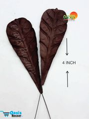 Handmade Mulberry leaves pack of 25 Embossed Leaves 19