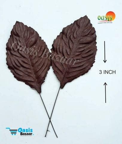 Handmade Mulberry leaves pack of 50 Embossed Leaves 23