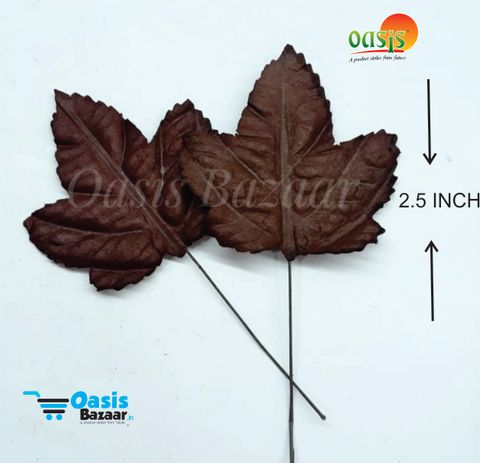 Handmade Mulberry leaves pack of 50 Embossed Leaves 24