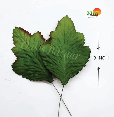 Handmade Mulberry leaves pack of 50 Embossed Leaves 28