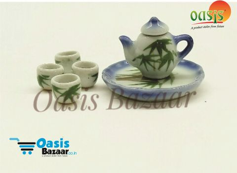 Ceramic Miniature Accessories Tea Set. 05