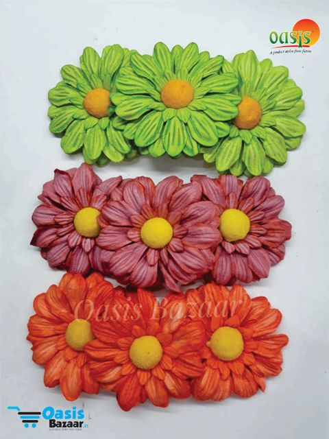 Sun Flowers Pack of 9 Flowers. mix colors 21
