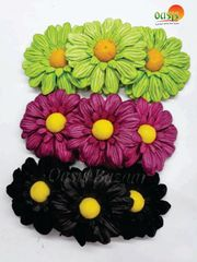Sun Flowers Pack of 9 Flowers. mix colors 24