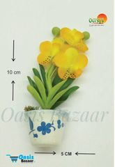 Ceramic Miniature Accessories Pack of Single Flower Pot with Magnet 30