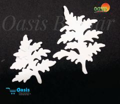 Paper Die Cut Daisy Leaves Plain 10pcs in Pack.