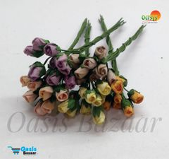 Micro Mini Rose Buds Pack of 50 buds 5 mm in Size 11
