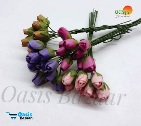 Micro Rose Buds Pack of 40 buds 10 mm in Size 05