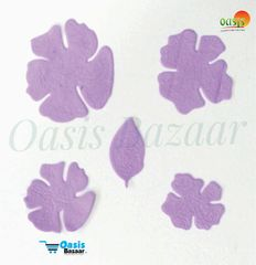 Foamerian Flower shape cutouts pack of 100 04