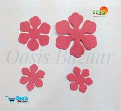 Foamerian Flower shape cutouts pack of 100 06
