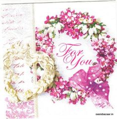 Decoupage Napkin Pack Of Single Napkin 13 X 13 Inches In Size 01