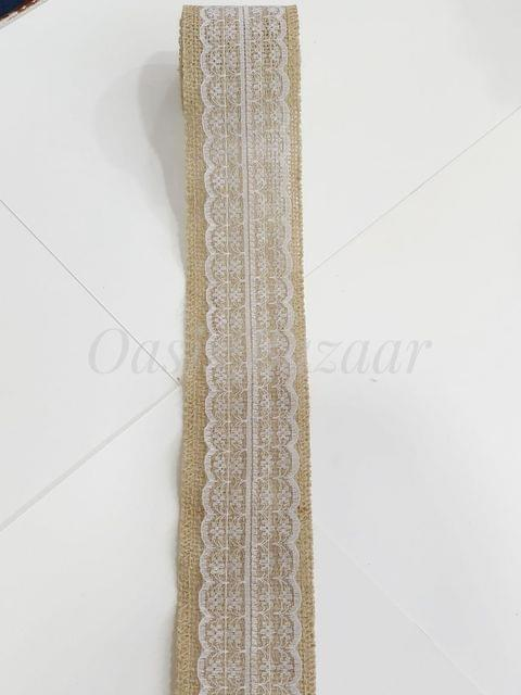 Oasis Jute Ribbon with Border- 03