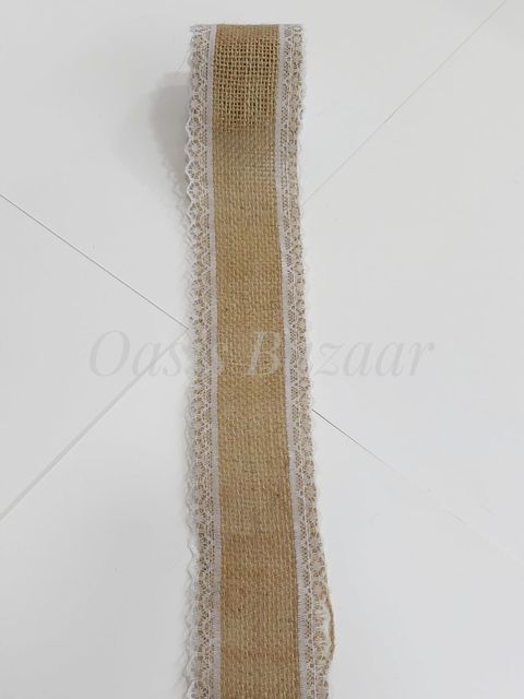 Oasis Jute Ribbon with Border- 04