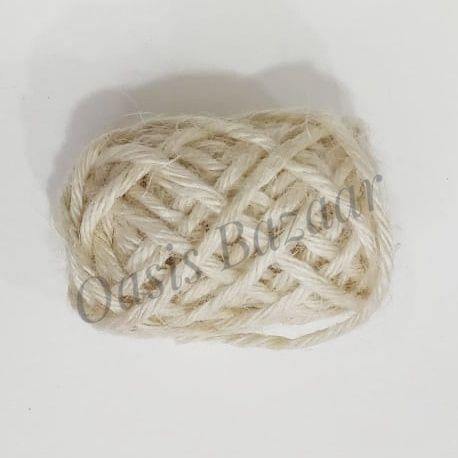 OASIS JUTE RIBBON WHITE 05