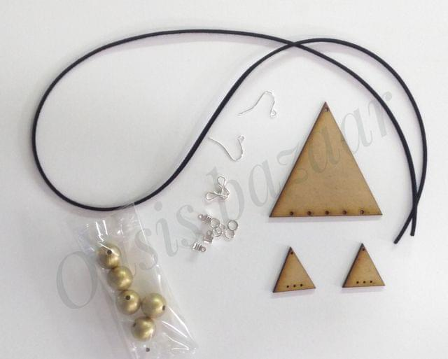 OASIS - jwellery making kit triangle