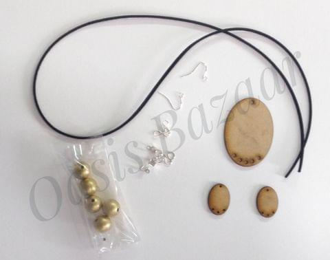OASIS jewellery making kit oval