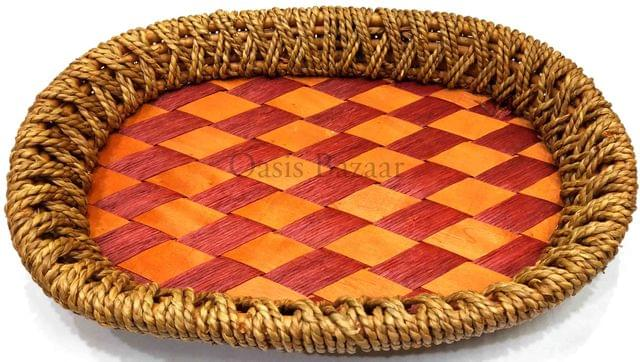 Gift Baskets Trays brown & red medium -27