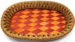 Gift Baskets Trays brown & red large -28