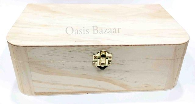 Wooden Jewellery Box Medium -11
