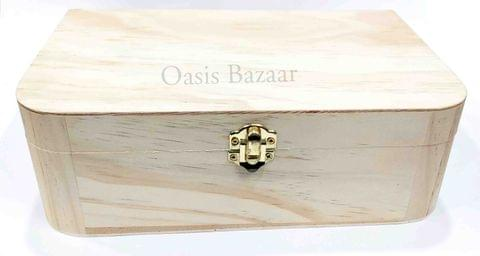 Wooden Jewellery Box Large -12