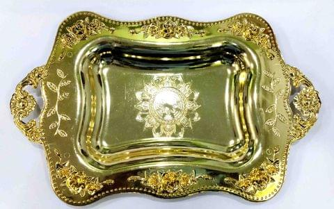 Serving Tray Gold -13