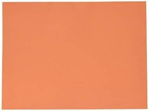"""Foam Sheets Orange in Color 20"""" X 20"""" Inches in Size 2mm."""