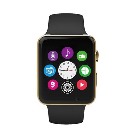 Gizmobitz I Smart Mobile Watch - Golden Color