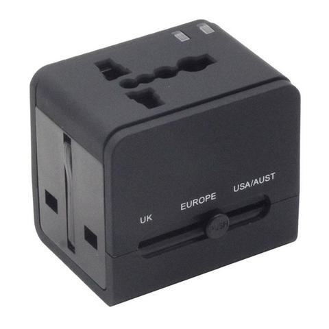 Callmate Travel Adapter With Dual USB Charger
