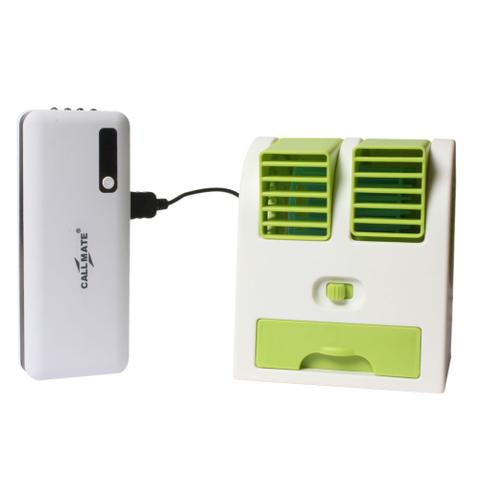 Callmate Power Bank 16800 mAH With Free Portable USB Air Cooler - Assorted Color