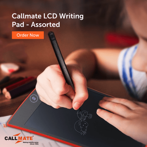 Callmate LCD Writing Pad - Assorted Color
