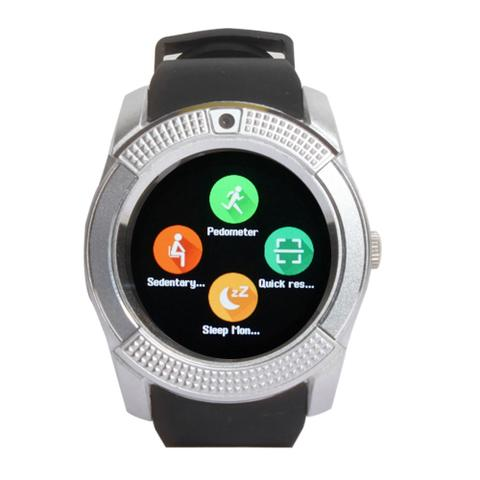 Callmate Bluetooth GB8 Smart Watch-Silver