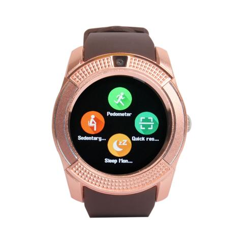 Callmate Bluetooth GB8 Smart Watch-Golden