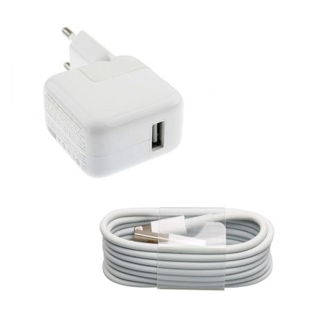 Callmate 10W Charger For Apple With Lightning Cable - White